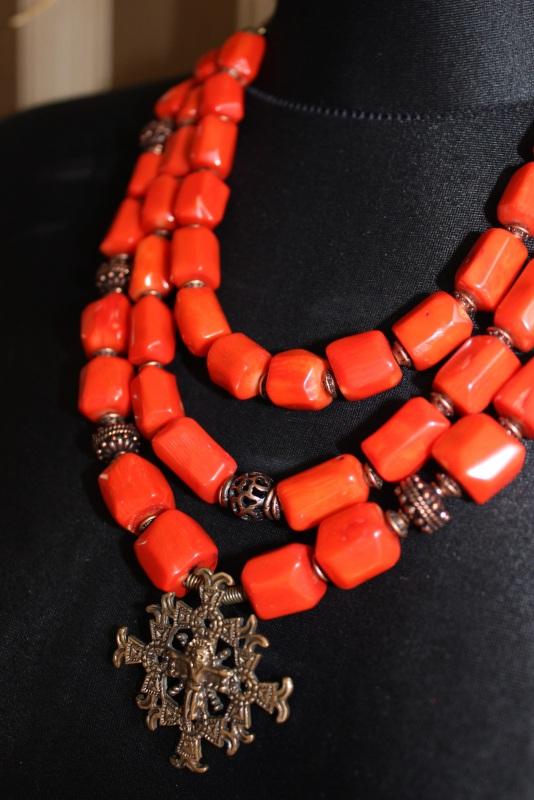 Будет мое Красный Ожерелье изготовлено из к Давибида Мария - фото 4