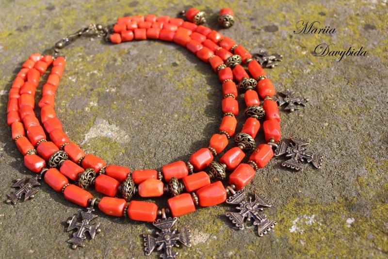 Шипшина Красный Ожерелье изготовлено из к Давибида Мария - фото 2