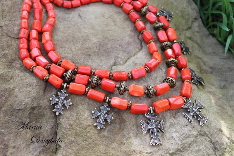 Шипшина Красный Ожерелье изготовлено из к Давибида Мария - фото 4