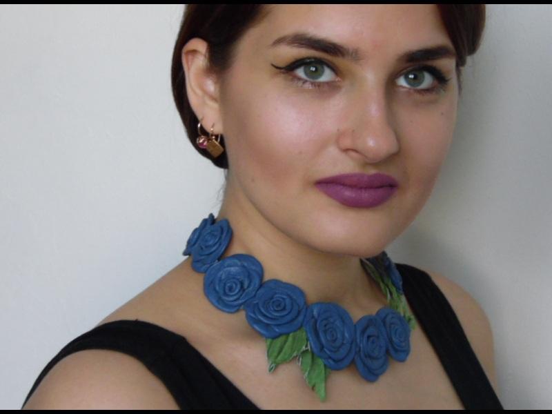 Синее чудо Синий кожа Добровольская Каринэ - фото 1