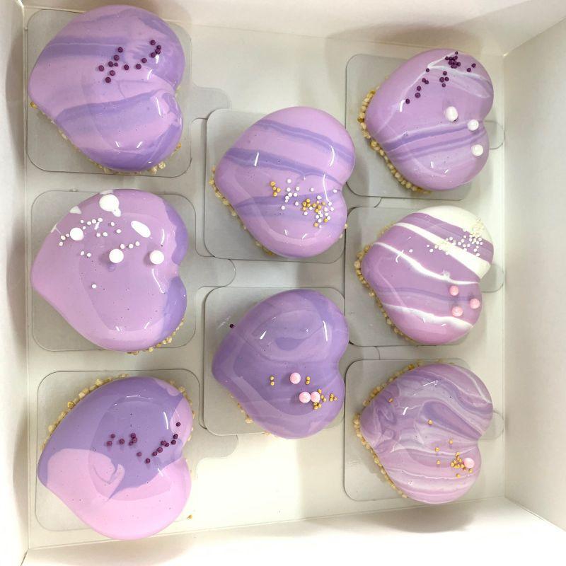Подарунковий набір десертів  мусові десерти, макаронс, Кондитерська Мілян - фото 6