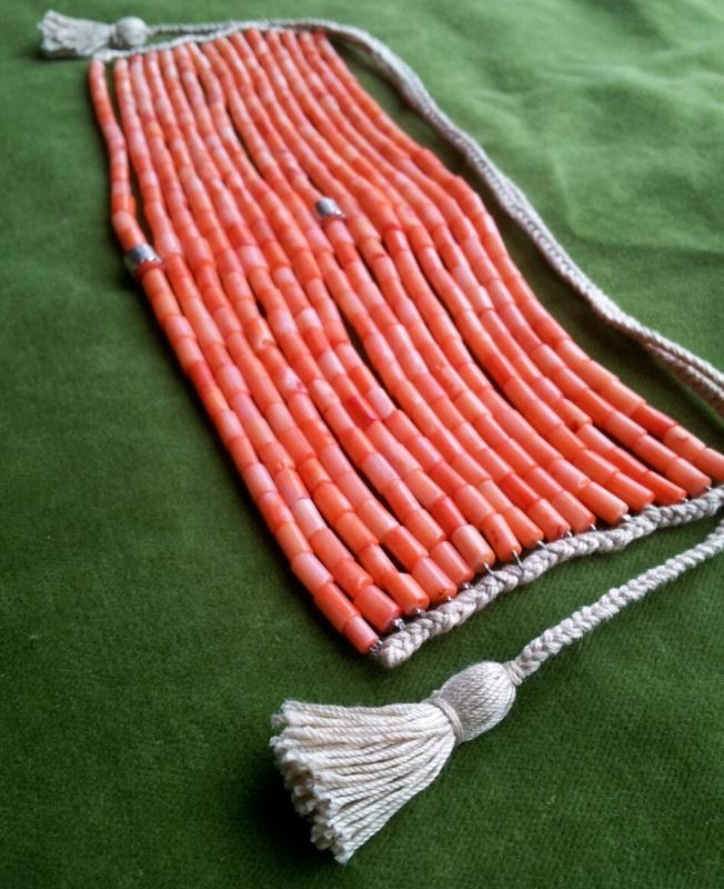 Коралловое ожерелье  коралл, серебро Дронь Ярина - фото 2