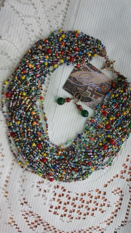 Краски лета Разноцветный чешский бисер и бусины ра Творческая мастерская Верес - фото 1