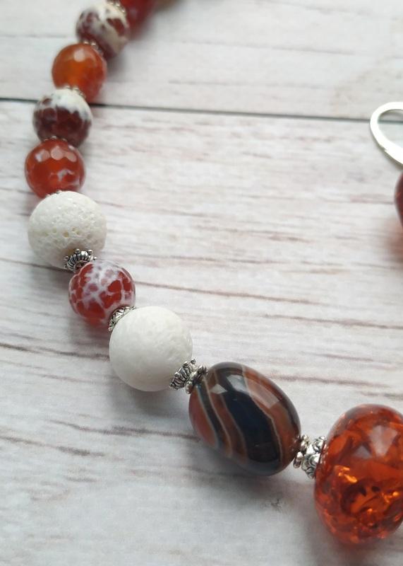 """Ожерелье """"Залитое солнцем""""    Это ожерелье создано из в Дзюба Христина - фото 3"""