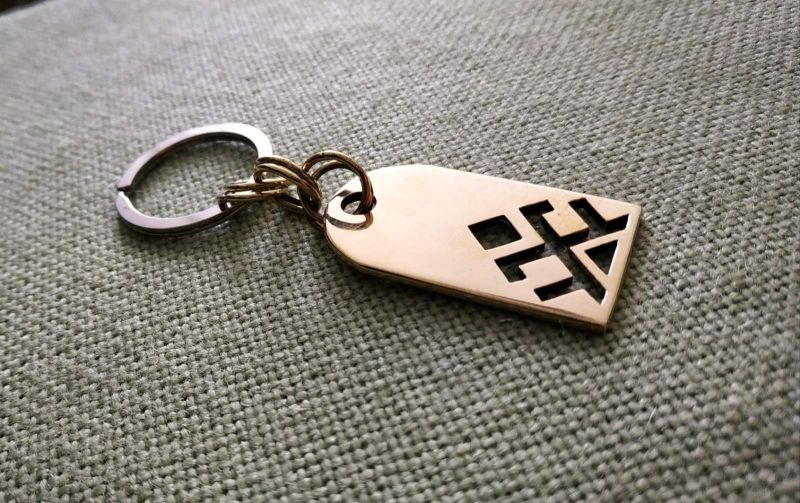 Брелок для ключей  Латунь Фарилюк Христина - фото 1