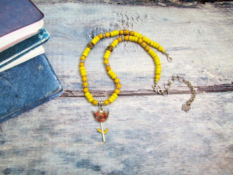 Лето цветами смеется! (6) Желтый Говлит, чешский и индийск Фарион Вера - фото 1