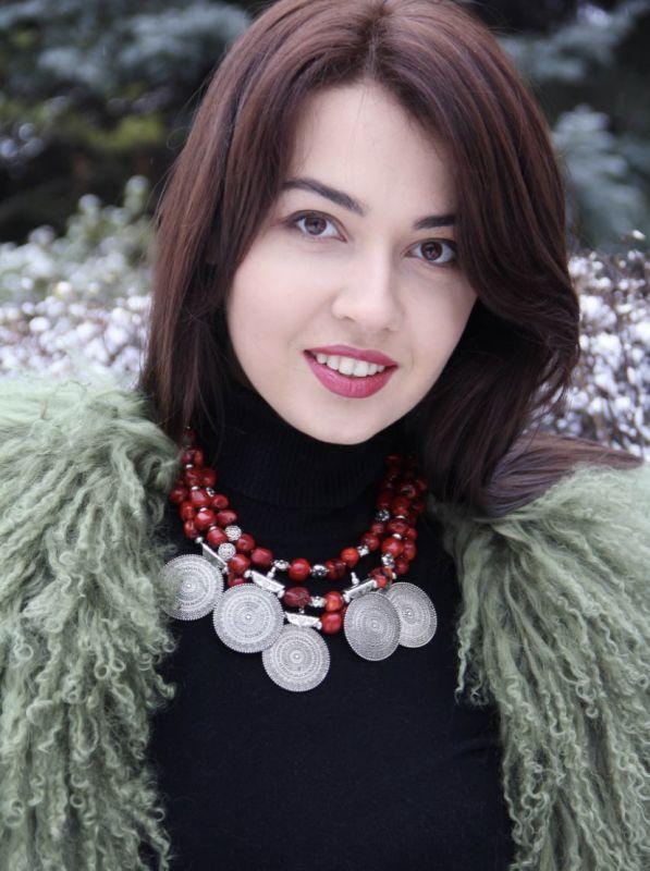 Чары мольфара Красный Ожерелье из дикого коралл Федоришин Татьяна - фото 5