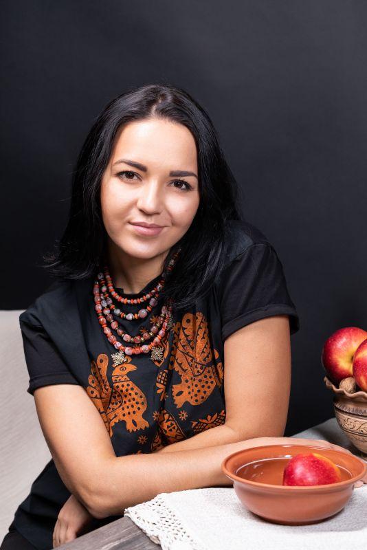 Волшебница Оранжевый Красная яшма, клубничная Федоришин Татьяна - фото 2