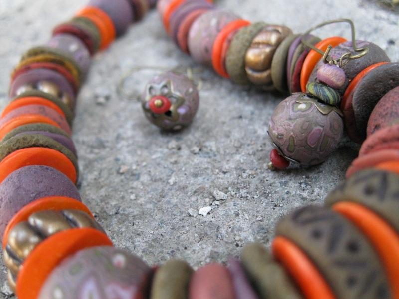 Этническое  полимерная глина Фурман Елена - фото 1