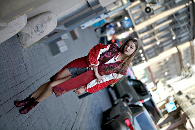 """Кардиган """"Весна"""" Красный вовна австралійських мери Галамага Виктория - фото 4"""