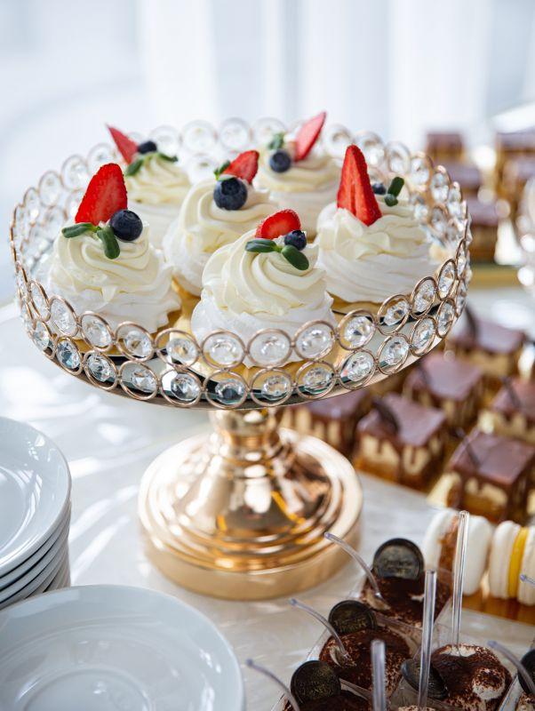 Павлова  Белок, сливки, сыр, ягоды HamadaBakery - фото 1