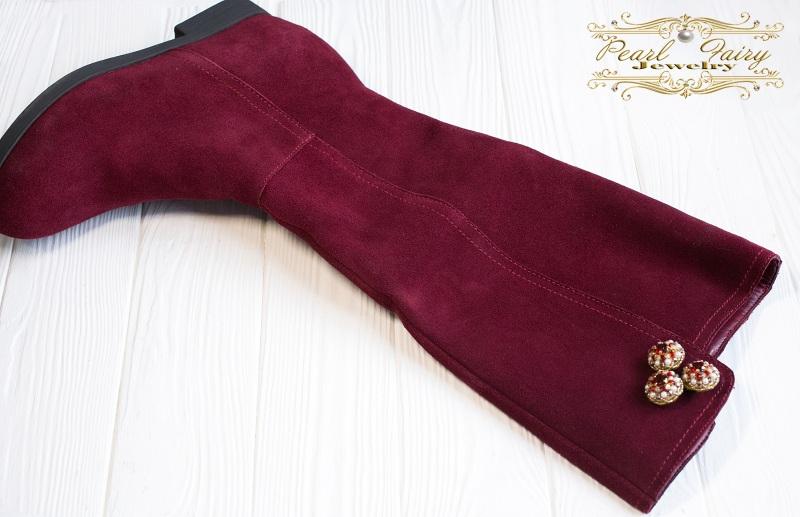 Трансформер: пуговицы-броши-декор на одежду, обувь, сумку Разноцветный Основа металлическая, рас Гармаш Елена - фото 7