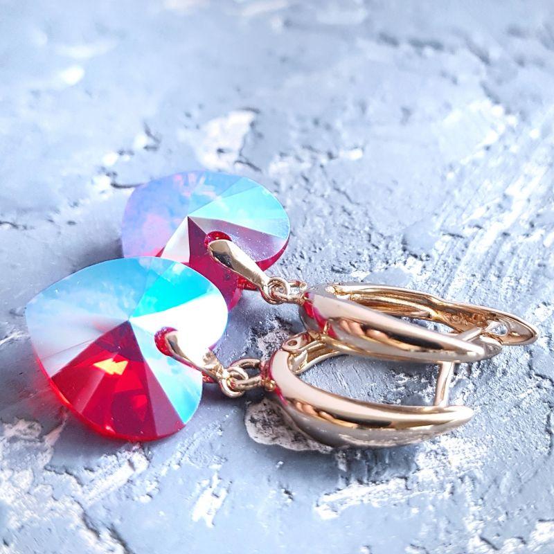 Натуральный жемчуг и кристаллы Сваровски браслет и серьги Белый жемчуг натуральный высоко Гармаш Елена - фото 6