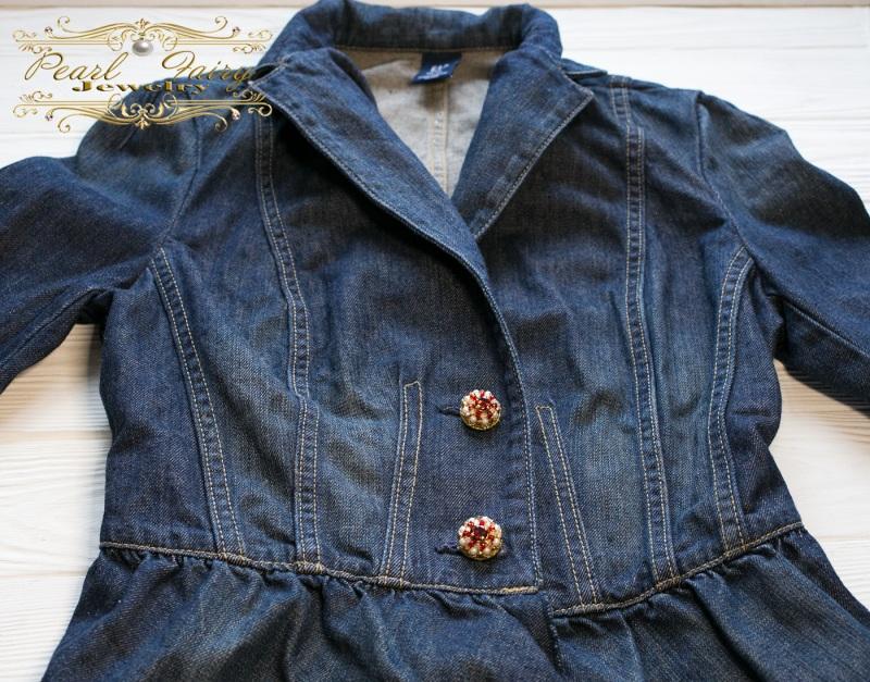 Трансформер: пуговицы-броши-декор на одежду, обувь, сумку Разноцветный Основа металлическая, рас Гармаш Елена - фото 5