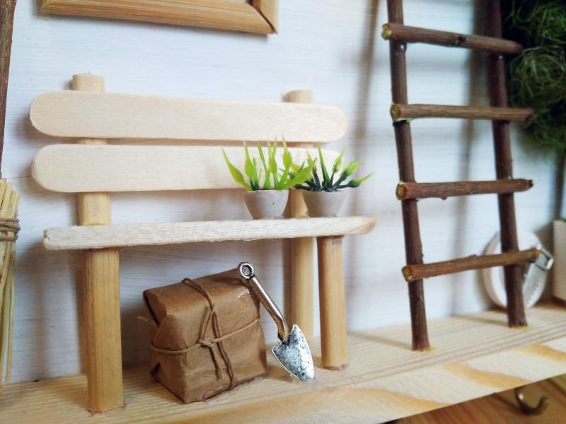 """Ключница (вешалка) в стиле прованс """"Manoir en Provence""""  деревянная основа, акрило Герасименко Юлия - фото 7"""