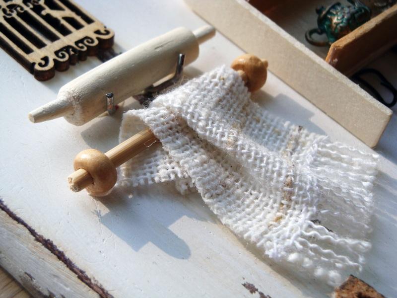 """Полотенечница (вешалка, ключница) в стиле миниатюра """"Сердце дома""""  Деревянная доска, акрилов Герасименко Юлия - фото 8"""