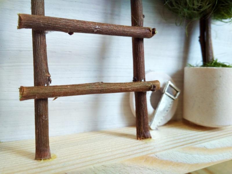 """Ключница (вешалка) в стиле прованс """"Manoir en Provence""""  деревянная основа, акрило Герасименко Юлия - фото 8"""