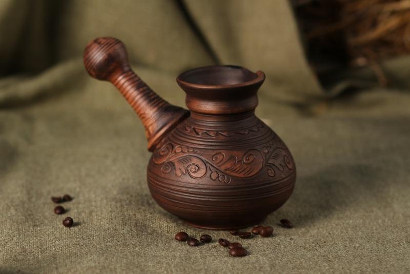 Турка для кофе  Глина Гошовский Виталий - фото 1