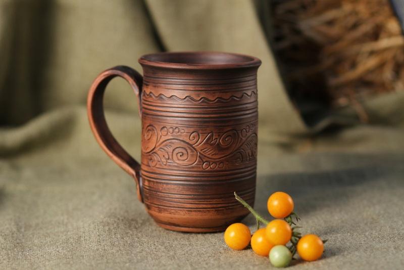 Чашка для чая  Глина Гошовский Виталий - фото 1
