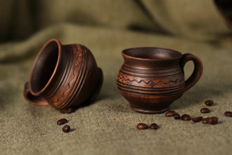 Чашки для кофе  Глина Гошовский Виталий - фото 1