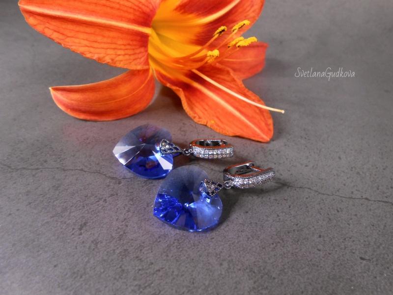 Ультрамарин  оригинальные кристаллы Sw Гудкова Светлана - фото 3
