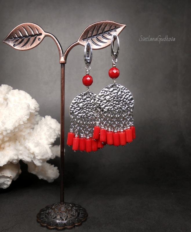 Коралловые Красный Красный коралл, англ.замо Гудкова Светлана - фото 1
