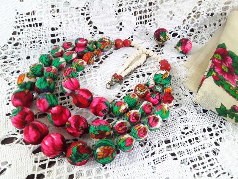 Терновое, белое  Украинский платок,кость. Гушинец Галина - фото 1