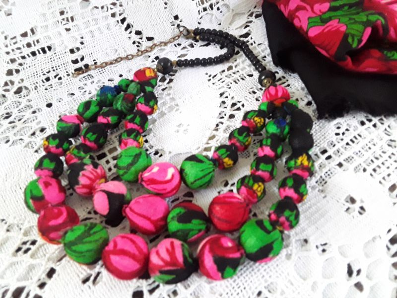 Терновое, черное Разноцветный Украинский платок,кость,л Гушинец Галина - фото 1