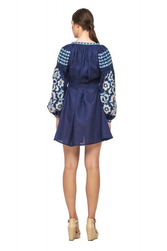 """Платье-вышиванка """"Бажена""""  100% высококачественный л BAZENA - фото 3"""