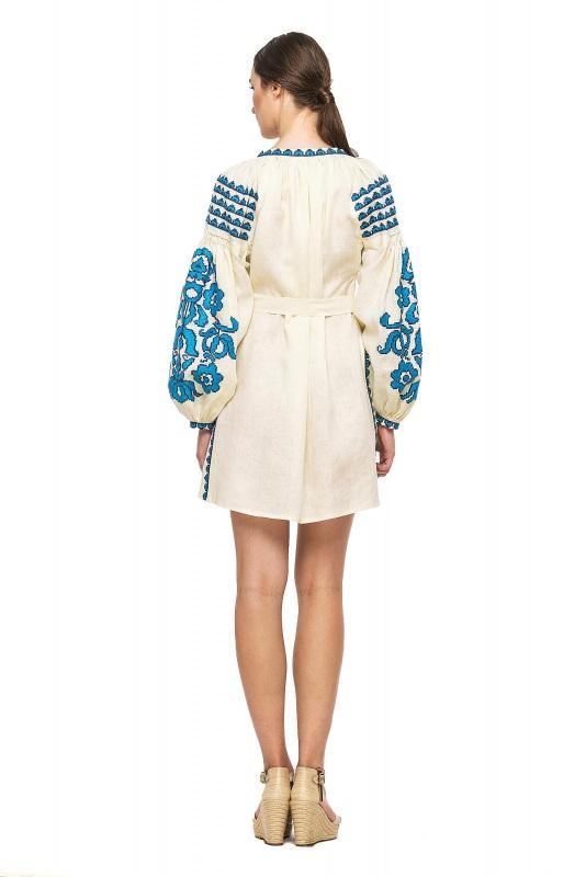 """Платье-вышиванка """"Бажена""""  100% высококачественный л BAZENA - фото 2"""