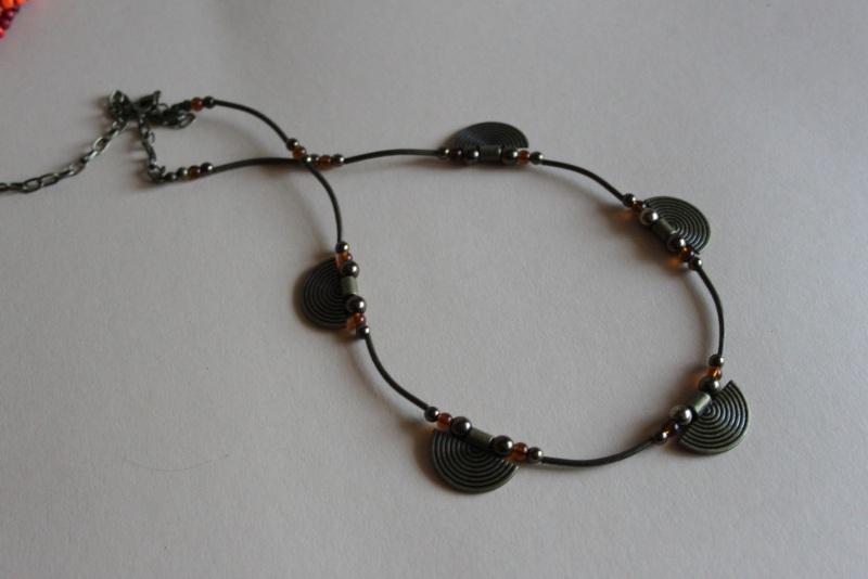 Комплект из двух ожерелий 2в1 Разноцветный бисер крупный, стекло, ге Шкварок Наталья - фото 2