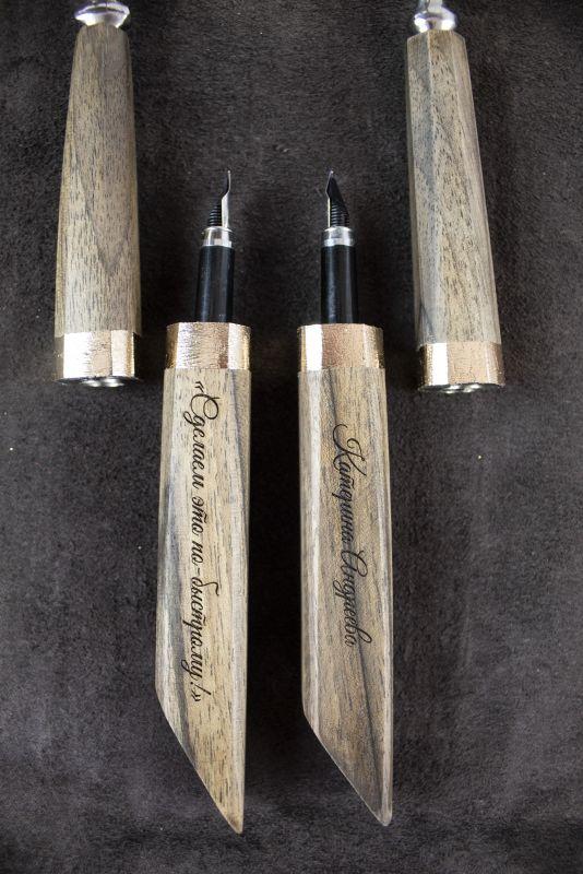 Подарочный набор ручек Pride&Joy Сhef  дерево Костюк Эдуард - фото 7