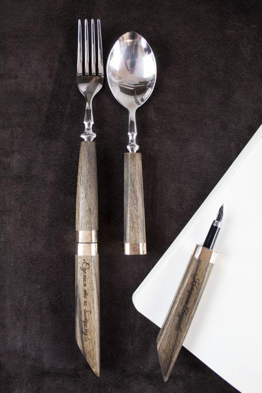Подарочный набор ручек Pride&Joy Сhef  дерево Костюк Эдуард - фото 1