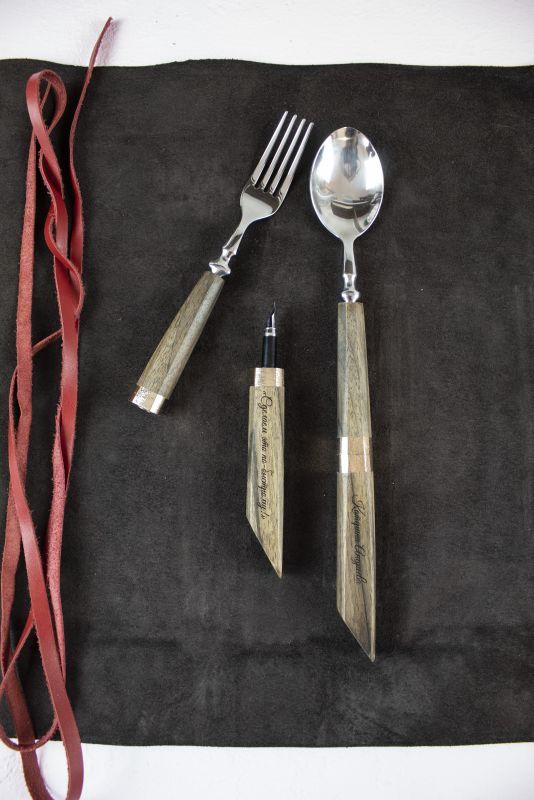 Подарочный набор ручек Pride&Joy Сhef  дерево Костюк Эдуард - фото 6