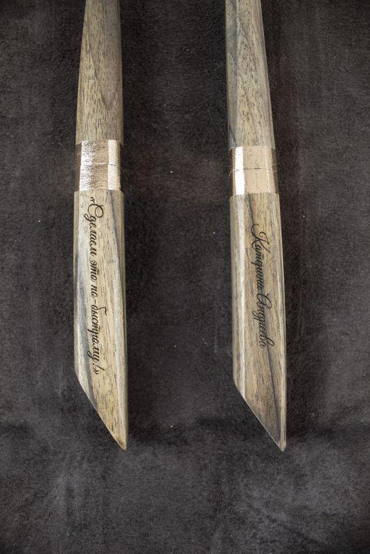 Подарочный набор ручек Pride&Joy Сhef  дерево Костюк Эдуард - фото 4