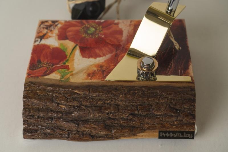 СВЕТИЛЬНИК PRIDE&JOY МАКИ С КОРОЙ 01LKF  дерево, метал, авто-детал Костюк Эдуард - фото 9