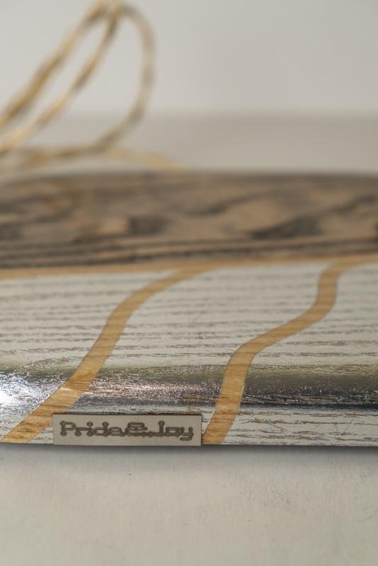 ДЕКОРАТИВНЫЙ СВЕТИЛЬНИК PRIDE&JOY LEAF 01LOS  дерево, орех, металл, авт Костюк Эдуард - фото 9
