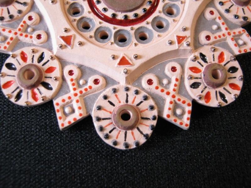 Кулон Вечность Розовый керамика, эмаль, позолота Коваленко Сергей - фото 2