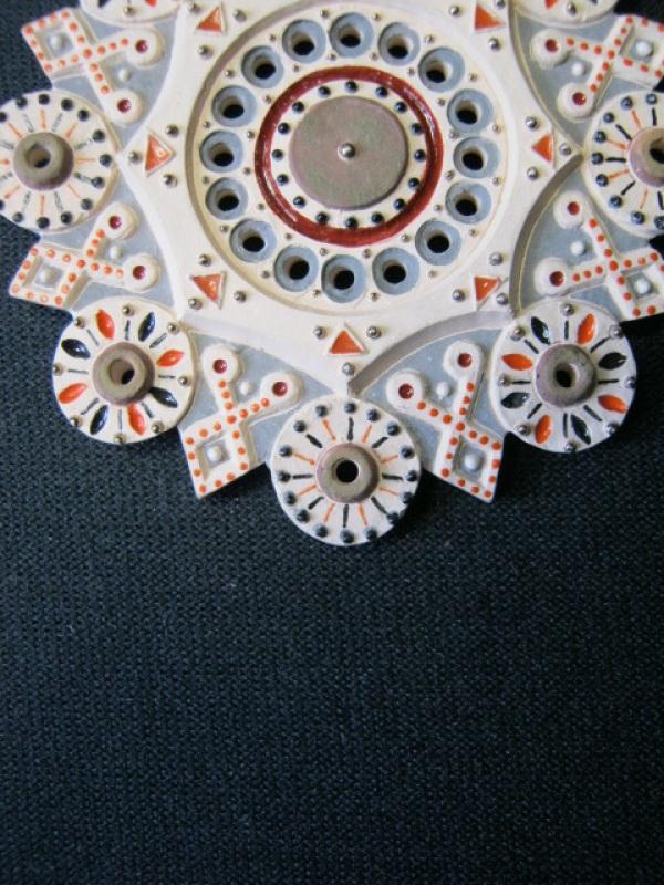 Кулон Вечность Розовый керамика, эмаль, позолота Коваленко Сергей - фото 3