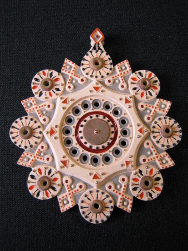 Кулон Вечность Розовый керамика, эмаль, позолота Коваленко Сергей - фото 1