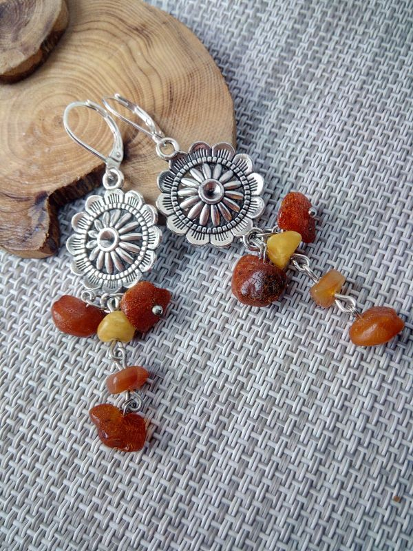 Янтарное настроение Оранжевый Необработанный янтарь, би Кравчук Раиса - фото 2