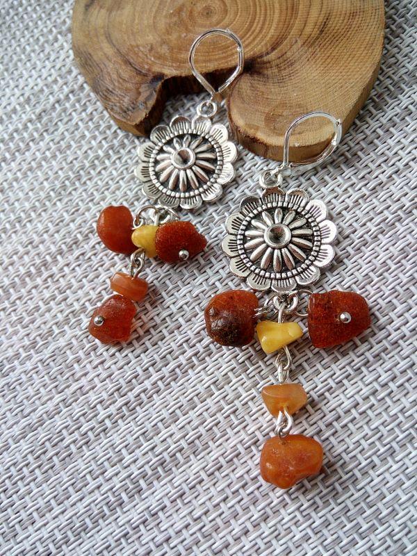 Янтарное настроение Оранжевый Необработанный янтарь, би Кравчук Раиса - фото 3
