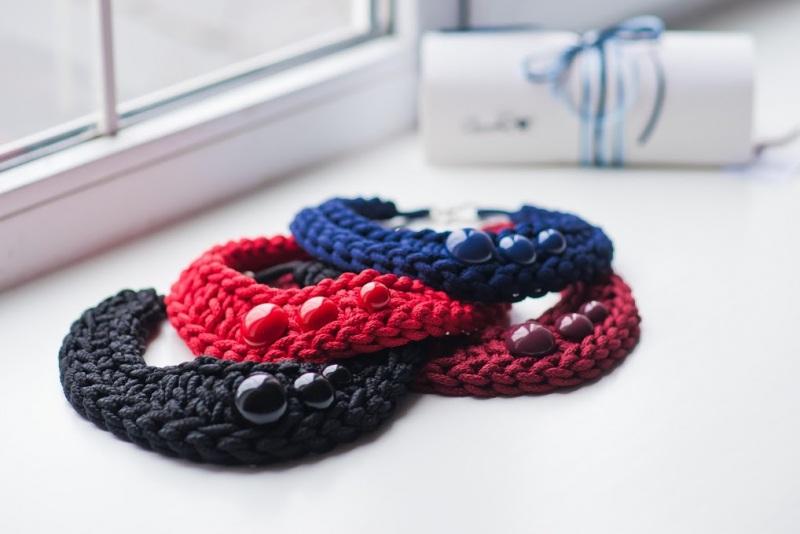 Pectoral 1 Красный Шнур текстильный, стойкая Кирмасова Олеся - фото 3