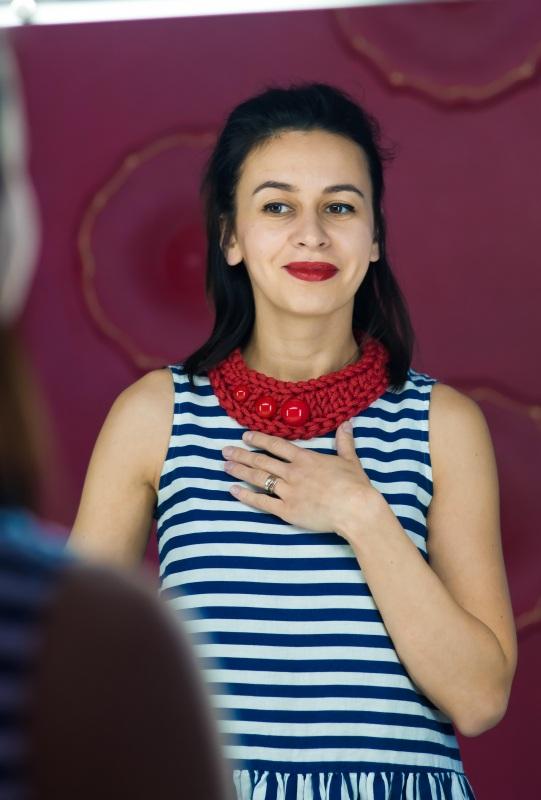 Pectoral 1 Красный Шнур текстильный, стойкая Кирмасова Олеся - фото 4