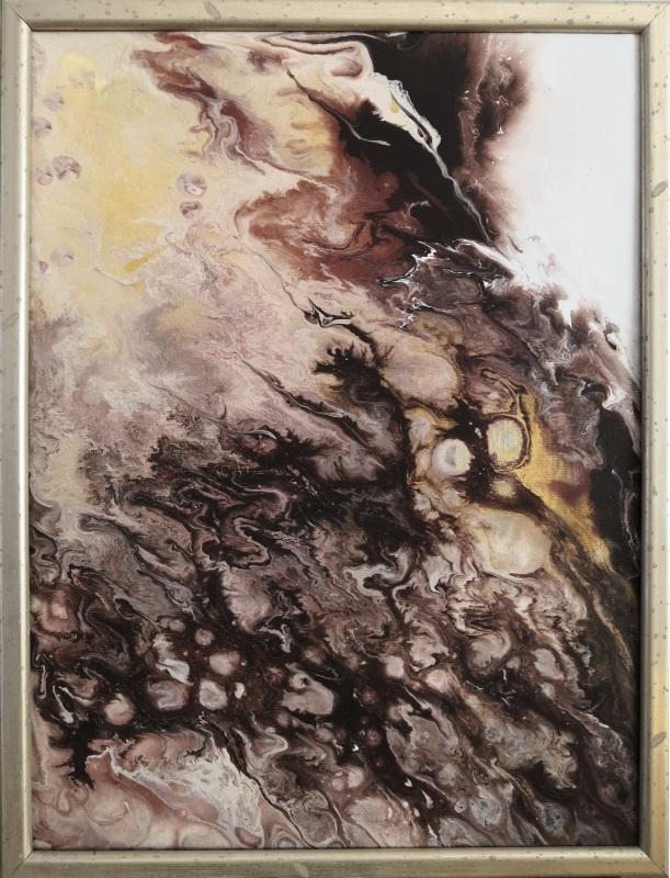 Диптих Три шоколада  Холст на подрамнике Кушнаренко Инна - фото 3
