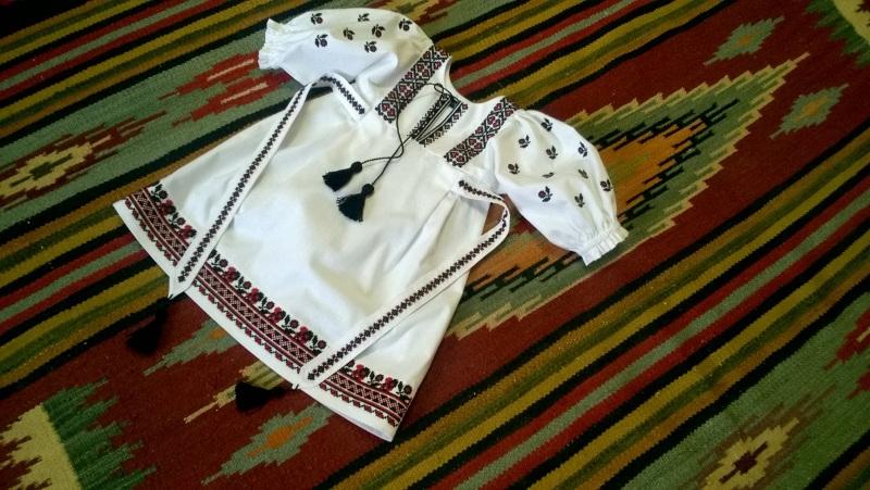Платье вышиванка Дрогобыцкая 02 Белый 100% cotton Мацигин Наталья - фото 1