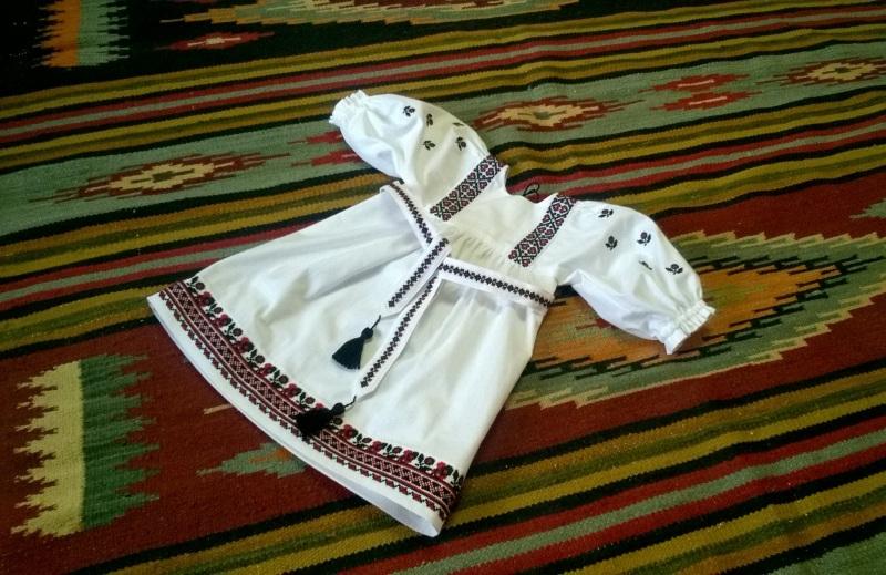 Платье вышиванка Дрогобыцкая 02 Белый 100% cotton Мацигин Наталья - фото 2