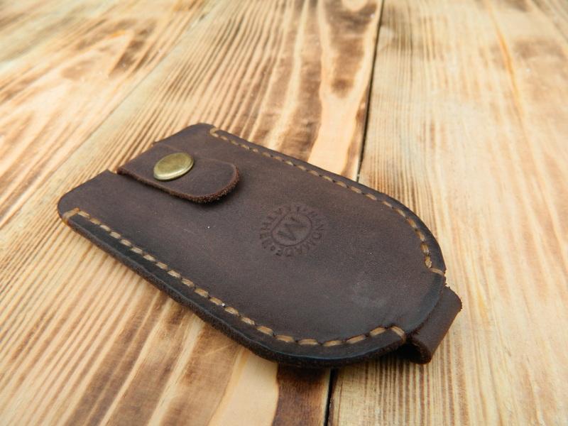 Кожаный чехол для ключа, Карманная ключница, Футляр для ключей  кожа, Натуральная кожа, и Онищенко Виталина - фото 4