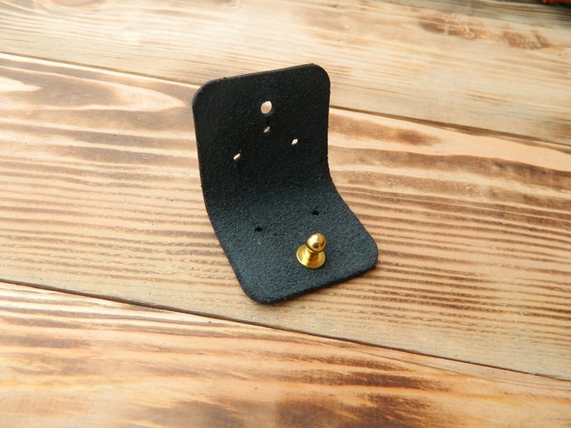Кожаный держатель для наушников  кожа, натуральная кожа, и Онищенко Виталина - фото 4
