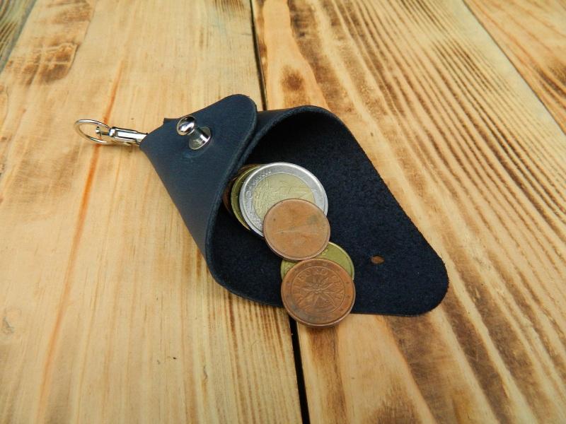 Кожаный брелок для ключей, Кожаный чехол брелока  кожа, Натуральная кожа, и Онищенко Виталина - фото 4
